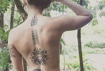 Sat yant tattoo