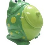 Frosch-Keksdosen und andere Keksdosen