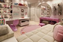 girly dream living / rooms and accessories every girl would love / by Renee Alam