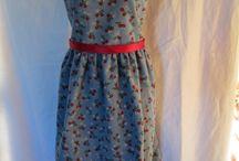 Girls Winter Pinafore / Girls Winter Dresses