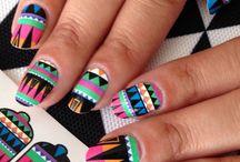 Этнические Ногти