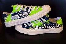 All Things SEAHAWKS! / From designer bags to yoga pants, charms to painted sneakers, hats to nail decals and ALL things fun and fashionable that say YOU'RE a proud SEAHAWKS FAN:) - Shellie Hart / by Warm 106.9