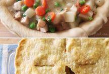 Interesting bird / Chicken pie