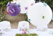 Butterfly themed party