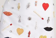 Beads and brooches