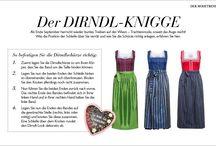Trachten Knigge - O'zapft is! / Traditionelle Dirndl und trendige Looks für das größte Volksfest der Welt.