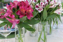 Esküvő - asztaldísz