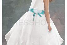 Sophie flower girl dress