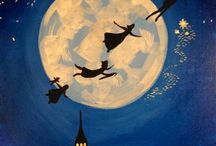 Paint Nite Paintings - Pop Culture / Our favorite pop culture and movie-themed paintings.