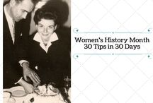 Women's History Month 2016 / Women's History Month 2016: 30 Tips in 30 Days.  tips for researching your female ancestor from Gena Philibert-Ortega. Posted on Gena's Genealogy http://philibertfamily.blogspot.com/ #genealogy #familyhistory #education / by Gena Philibert-Ortega