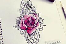 Tatoos rosas