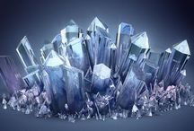 Crystals / Crystals form in the Earth via various chemical reactions. Each type has its own properties, including effects they have on our physical, mental, emotional and spiritual well-being.