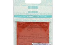 First Edition Rubber Stamps / First Edition has added to its growing range with a collection of premium quality red rubber stamps featuring designs from its most popular paper pads. The collection of image and background stamps will add a unique element to your paper crafts and can be coordinated with the matching paper designs. Manufactured in the UK by IndigoBlu the renowned rubber stamp manufacturer, you can achieve highly detailed stamped images with these quality First Edition stamps.