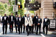 My all black wedding...
