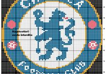 Fotball-logoer og fotballer