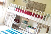 kids' rooms / by Danielle DeMasi