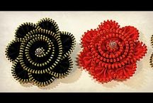 Zipper- Flowers,Crafts and Jewelry / by Cindy Carlton