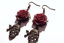 Earrings / Earrings available for purchase in our online store www.teacuprose.etsy.com