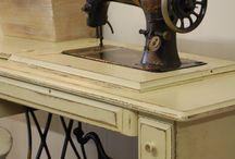 Máquinas de coser y de escribir