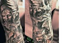Angels tattoo