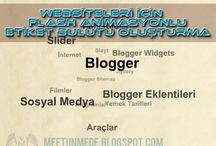 Websiteleri için Flash Animasyonlu Etiket Bulutu Oluşturma