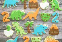 Louise dinosaur koekies