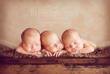 Trojaczki noworodki