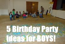 Birthday Party Ideas / by Amy Ciarlo