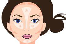 maquillage visage rond