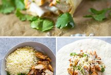 Easy wraps/easy food