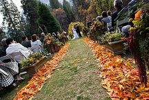 Venue Flower Ideas / Flowers make the venue perfect; no matter if it a rooftop, local church or a backyard.