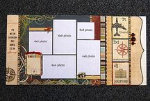 Scrapbook Double Page Spreads