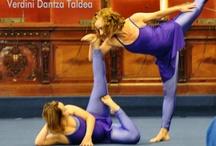 Verdini / Fotos de Haizea bailando en la compañia Verdini Dantza Taldea