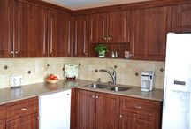 Solid Surface Kitchen Countertop Remodel / Solid Surface Kitchen Countertop Remodel Project