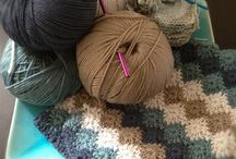 Gehaaktedeken-Crochet warm Throw / Looking some ideas for my next crochet throw project-mijn volgende warme haakdeken ideeën