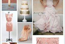 Color Inspiration- Metallics / by Jerry Rose Floral and Event Design