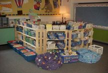 kindergarten room set up