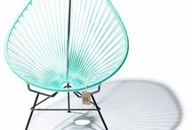 Acapulco Chairs / The genuine article. All the way from Mexico. 20 colours to choose from. http://www.zazous.co.uk/acapulco-chairs