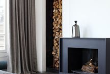 Loft: Fireplaces