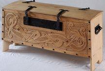 archaic chest / archaic / chest / lada de zestre