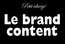 Contenu de Marque / Contenu Marketing