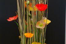 parallel gestoken bloemwerk