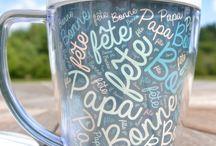 Mug décoré / Arts visuels