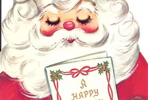 Christmas: Vintage Pictures / Vintage and vintage-style Christmas posters, pictures, adverts, cards etc.