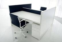 """Bulo Collections_Vincent van Duysen_Desk / Desk refers to the landscape offices as shown in Jacques Tati's movie """"Playtime"""" as well as the executive furniture of the thirties."""