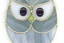 Stained glass creatures / Owl
