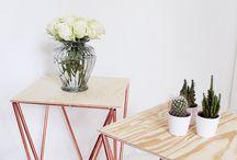 Kupfer Möbel DIY