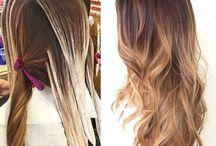 cabelo balayage