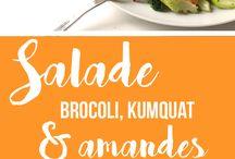 Salades / Mes recettes préférées de salades au fil des saisons