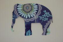 {elephants} / by Hayley Caslin
